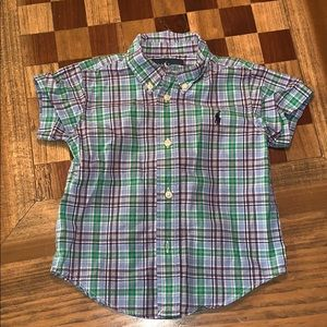 EUC Ralph Lauren Boys Button Down